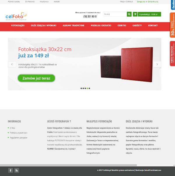 celfoto - Tworzenie i konfiguracja sklepu internetowego WOOCOMMERCE