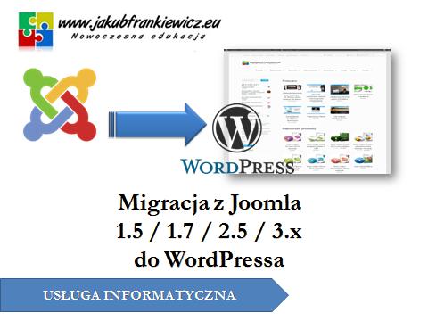 migracjadowp - Migracja z Joomla 1.5 / 1.7 / 2.5 / 3.1 do Wordpress