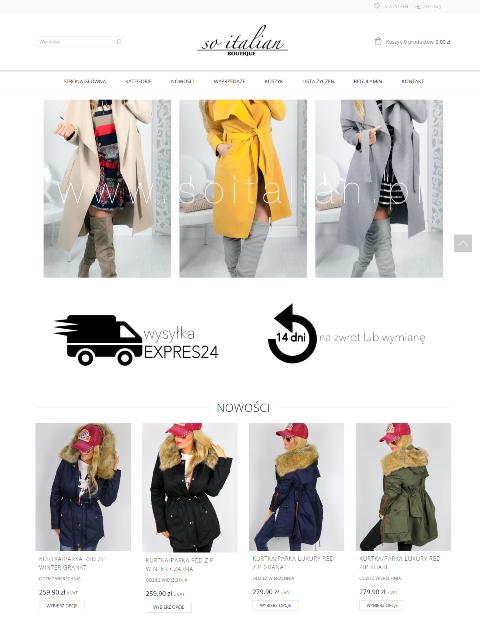 soitalian - Tworzenie i konfiguracja sklepu internetowego WOOCOMMERCE