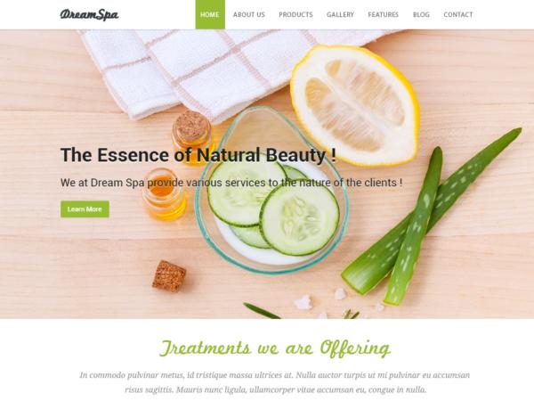 spa3 600x450 - Strona www dla salonu kosmetycznego