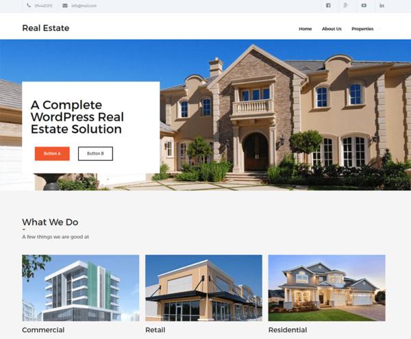 nieruchomosci3 600x495 - Strona internetowa dla biur nieruchomości