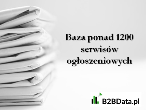 baza serwisow ogloszeniowych - Baza ponad 1200 serwisów ogłoszeniowych w Polsce