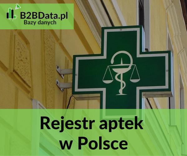 rejestr Aptek - Rejestr aptek w Polsce