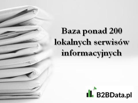 serwisy lokalne - Baza ponad 200 lokalnych serwisów informacyjnych