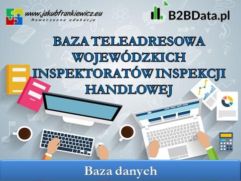 inspekcja handlowa - Baza teleadresowa Wojewódzkich Inspektoratów Inspekcji Handlowej