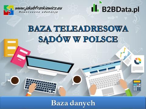 sady w polsce - Baza teleadresowa sądów w Polsce