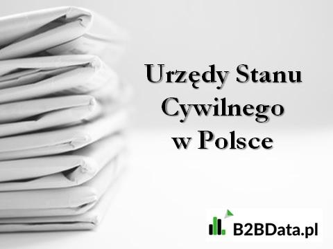 usc baza - Urzędy Stanu Cywilnego w Polsce