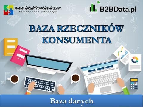 baza rzecznikow konsumentow - Baza Rzeczników Konsumenta