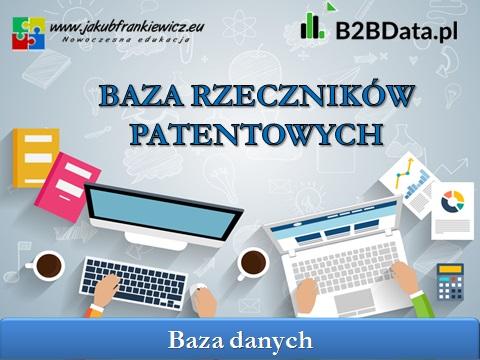 baza rzecznikow patentowych - Baza Rzeczników Patentowych