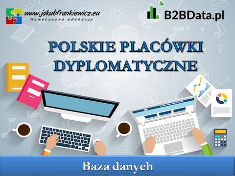 placowki dyplomatyczne - Polskie placówki dyplomatyczne