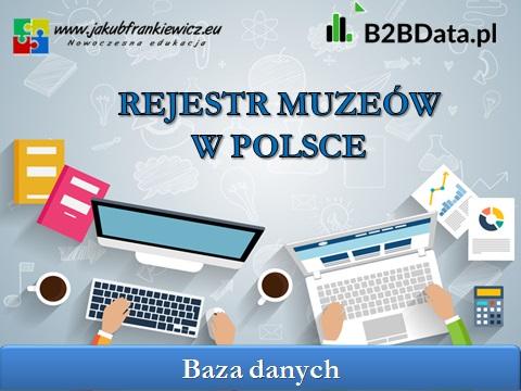 rejestr muzeow - Wykaz muzeów w Polsce