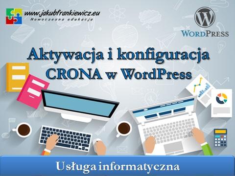 cron wordpress - Aktywacja i konfiguracja CRONA w WordPress