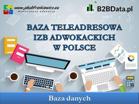 izby adwokackie - Dane teleadresowe izb adwokackich w Polsce