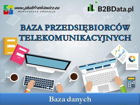 przedsiebiorcy telekomunikacyjni - Baza przedsiębiorców telekomunikacyjnych