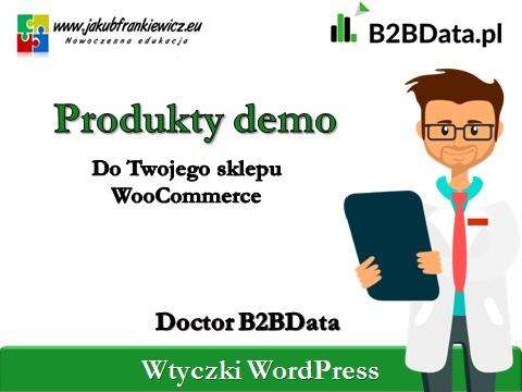 produkty demo - Doctor B2BData - Produkty do demo