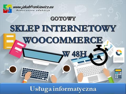 gotowy sklep - Gotowy sklep internetowy w 48h