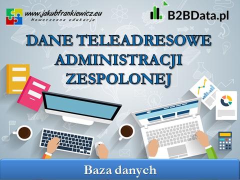 admin zespolona - Dane teleadresowe administracji zespolonej