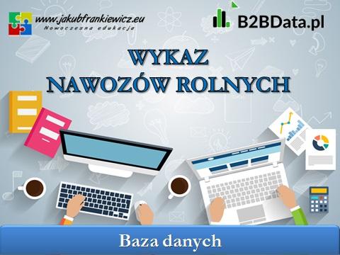 nawozy - B2BData.pl