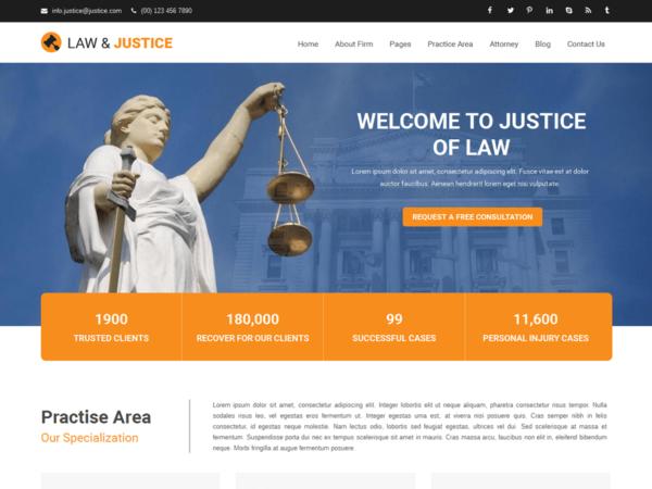 prawnik 600x450 - Strona www dla kancelarii prawnej