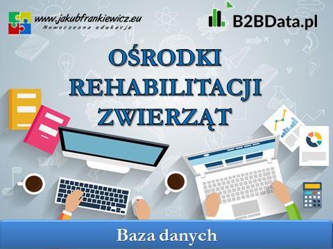 rehabilitacja zwierzat - B2BData.pl