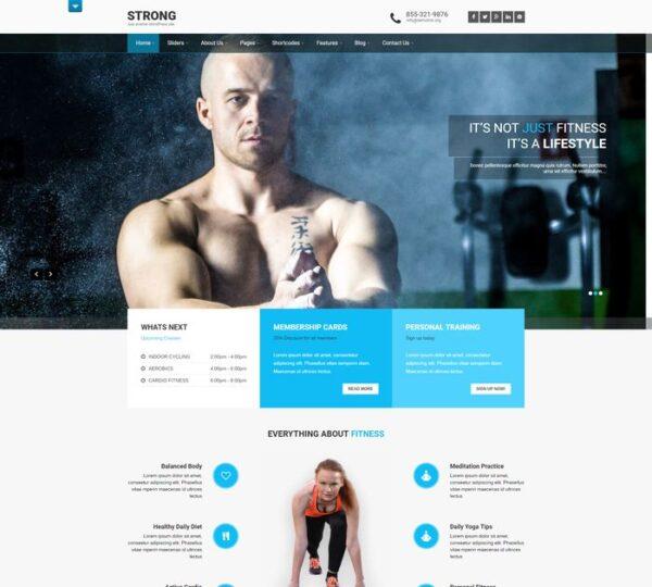 sport10 600x540 - Strona www dla klubu sportowego