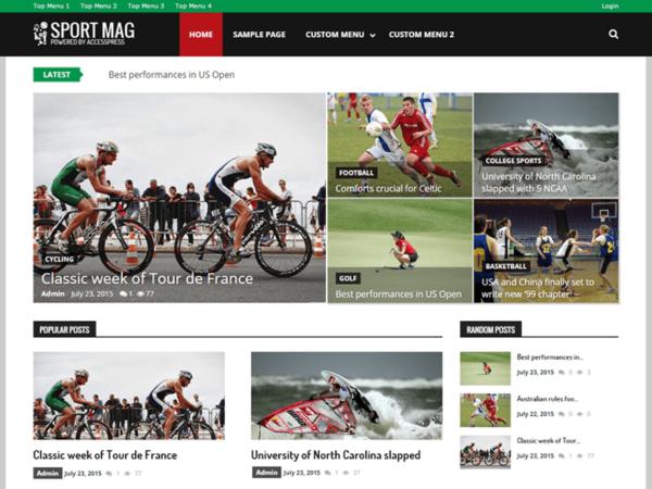 sport3 600x450 - Strona www dla klubu sportowego
