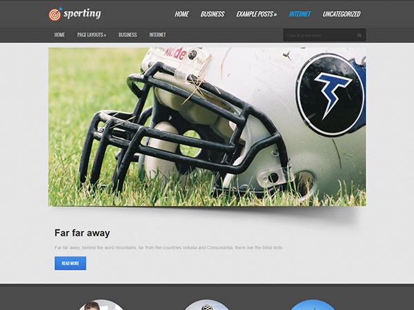 sport8 - Strona www dla klubu sportowego