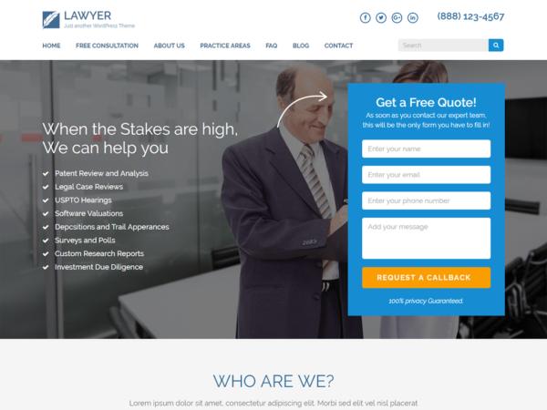 szablonwp3 600x450 - Strona www dla kancelarii prawnej