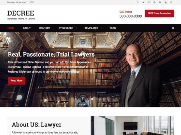 szablonwp9 600x450 - Strona www dla kancelarii prawnej