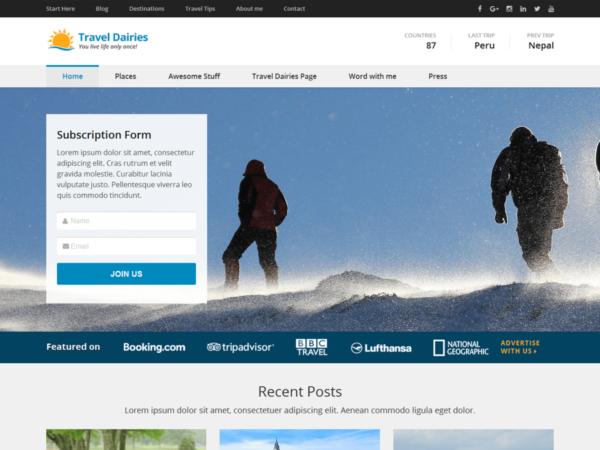 travel6 600x450 - Strona www dla biura podróży