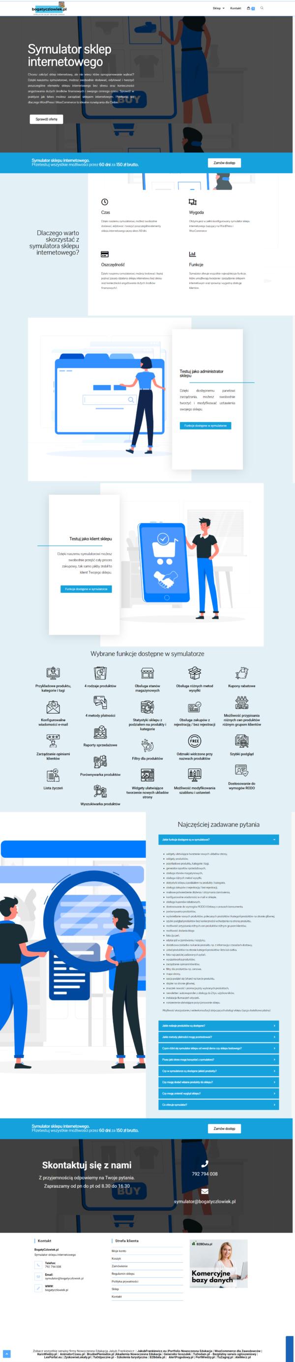 BogatyCzlowiek pl Symulator sklepu internetowego 600x2769 - Symulator sklepu internetowego