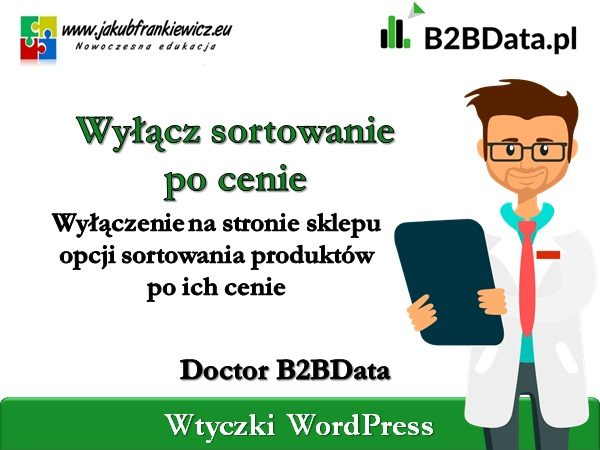 b2bdata sortowanie cena 600x450 - Doctor B2BData - Wyłączenie sortowania po cenie