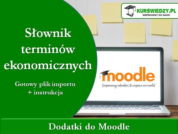 slownik ekonomiczny - Moodle: Słownik terminów ekonomicznych