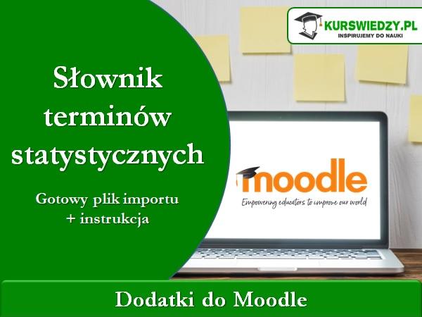 slownik statystyczny - Moodle: Słownik terminów statystycznych