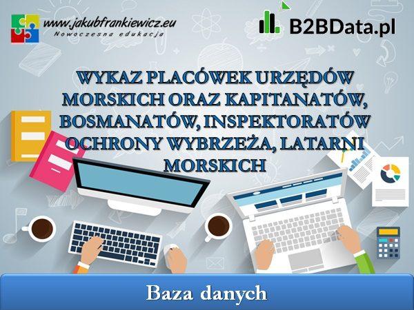 urzedy morskie - B2BData.pl