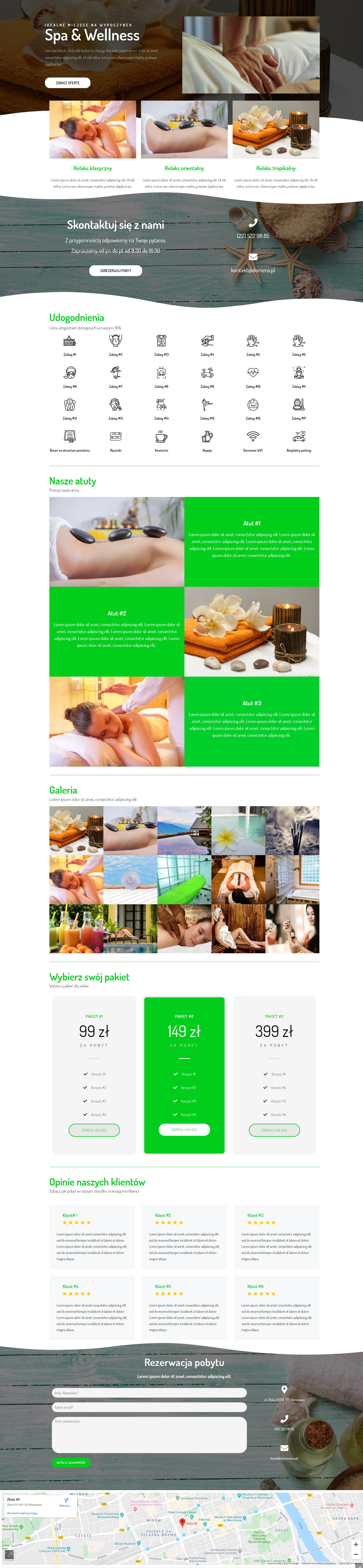 spa01 screen - SPA01 - szablon do wtyczki Elementor