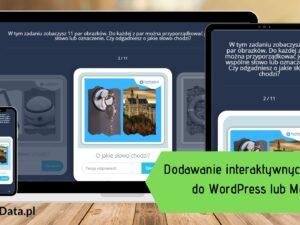 interaktywne tresci 300x225 - Tworzenie interaktywnych treści do WordPress i Moodle