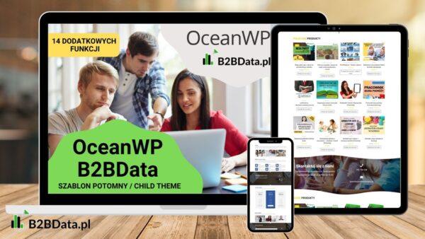 rsz b2bdata ocean szablon oferta 600x338 - OceanWP B2BData - szablon potomny