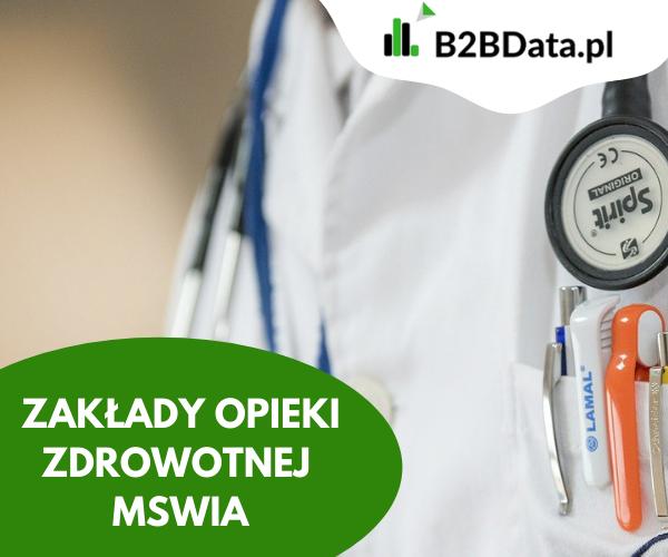 zoz mswia - Zakłady Opieki Zdrowotnej  MSWiA