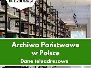 archwia panstwowe 300x225 - Archiwa Państwowe w Polsce