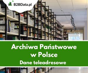 archwia panstwowe - Archiwa Państwowe w Polsce